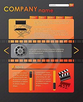 Website Template Stock Image - Image: 21817511