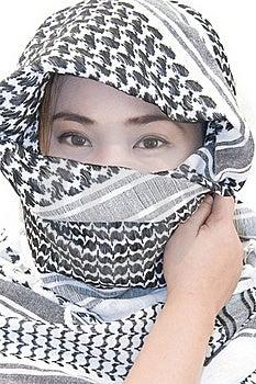 Muslim Girl Royalty Free Stock Photos - Image: 21818788