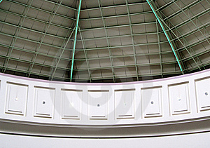 Roof Of Dome Structure Portrait Picture Stock Photography - Image: 21820322