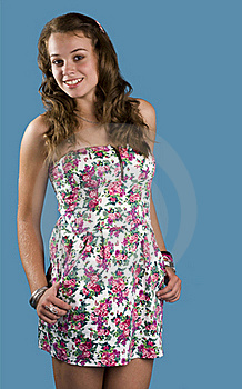 Figure Of A Young Woman Royalty Free Stock Images - Image: 21821209