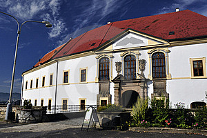 Baroque Castle In Decin Royalty Free Stock Images - Image: 21823229