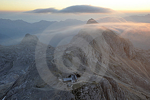 Early Morning From Triglav Royalty Free Stock Images - Image: 21823539