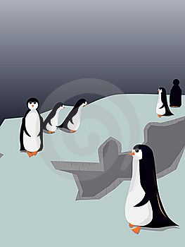 Little Penguins Royalty Free Stock Photo - Image: 21826825