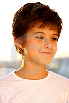 A Boy Royalty Free Stock Images - Image: 21828789