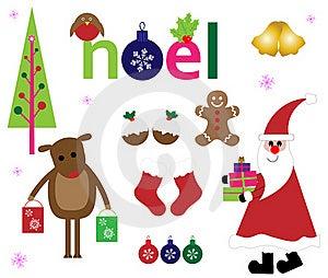 Christmas Elements Stock Images - Image: 21831434