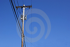 Power Pole Stock Images - Image: 21834654