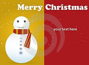 Merry Christmas Card Stock Photos - Image: 21842963