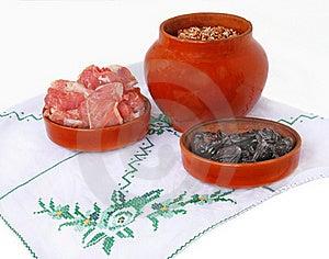 Pot With Buckwheat Porridge Royalty Free Stock Image - Image: 21847976