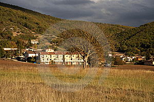 Mountain Village Stock Photography - Image: 21856962
