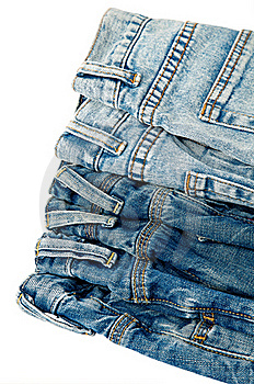 Blue Jeans Royalty Free Stock Images - Image: 21857019