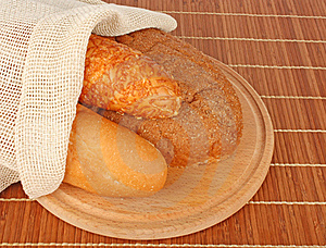 Bread Composition Royalty Free Stock Image - Image: 21858826