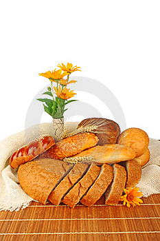Bread Composition Royalty Free Stock Image - Image: 21858886