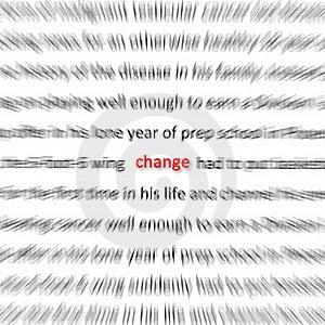 Change Stock Image - Image: 21861301