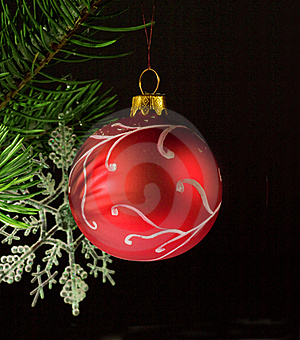 Hand Painted Bauble Stock Photography - Image: 21862432
