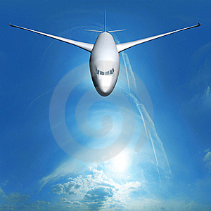 Dream Liner In The Sky Royalty Free Stock Photography - Image: 21867787