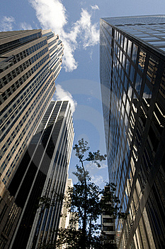 Skyscrapers Royalty Free Stock Photos - Image: 21868148