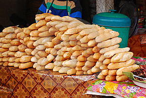 Fresh Loafs Of Bread For Sell Stock Image - Image: 21870271