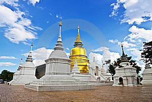 Buddhist Temples In Thailand. Royalty Free Stock Photos - Image: 21870738