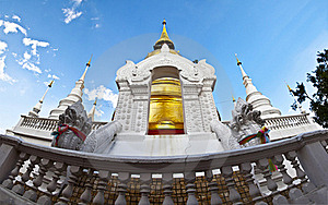 Buddhist Temples In Thailand. Royalty Free Stock Images - Image: 21870759