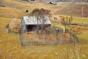 Ruined Transylvania Household Royalty Free Stock Photo - Image: 21882445