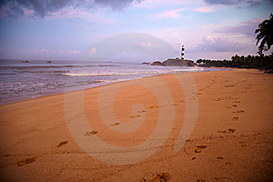 Beautiful View Of Beach Royalty Free Stock Photography - Image: 21884827