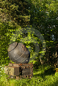 Naval Mine Royalty Free Stock Photography - Image: 21893207