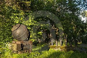 шахта военноморская Стоковая Фотография - изображение: 21893222