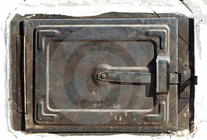 Traditional Old Oven Door, Raw Royalty Free Stock Photography - Image: 21893677