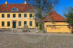 Traditional Danish House Stock Photos - Image: 21899663