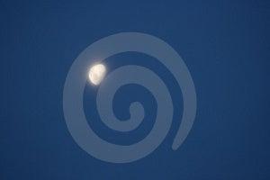 Eerie Moon Stock Image - Image: 2190011
