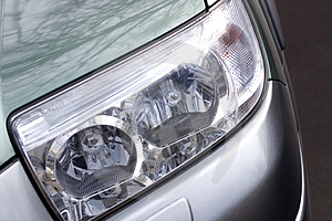 Vehicle Headlight Close-up Stock Photos - Image: 2198693