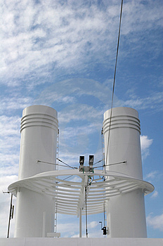 Ships Smokestacks Stock Photography - Image: 2199972