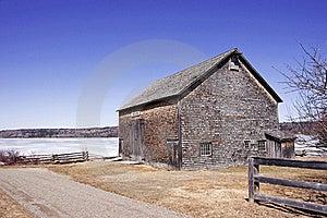 Pioneer Barn - New Brunswick, Canada Stock Image - Image: 21905811