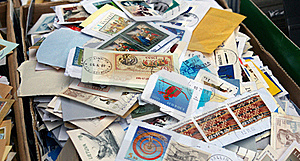 Postage Stamps. Stock Photo - Image: 21910550