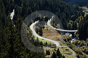 Serpentine Road Stock Images - Image: 21928714