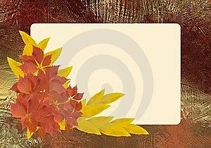 Autumn Frame Stock Photography - Image: 21933382