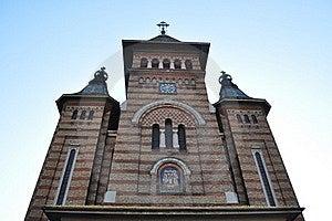 Ortodox Cathedral In Timisoara. Royalty Free Stock Photos - Image: 21935018