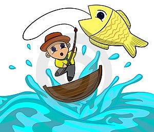 Fisherman Royalty Free Stock Photos - Image: 21936888