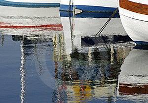 Row Of Pleasure Boats Royalty Free Stock Photo - Image: 21941265