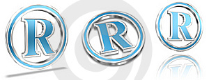 Registered Trademark Symbols Royalty Free Stock Images - Image: 21944199