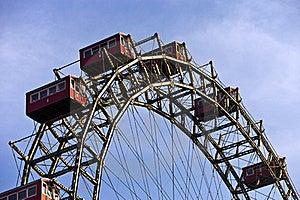 Historic Ferris Wheel Of Vienna Royalty Free Stock Photos - Image: 21946788