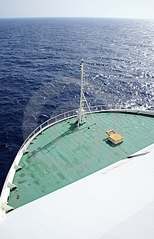 Bow Of A Ship Stock Images - Image: 21948974