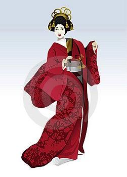 Slender Japanese Royalty Free Stock Photos - Image: 21949238