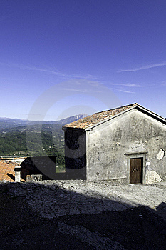 Old Village Stock Image - Image: 21949671