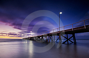 Vibrant Jetty Stock Images - Image: 21951254