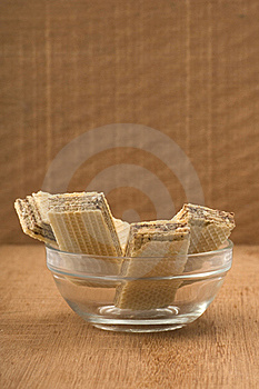Chocolate Wafer Royalty Free Stock Photo - Image: 21953655