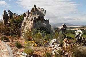 De Natuurlijke Eigenschap Van De Tuinrots Stock Foto - Afbeelding: 21955200