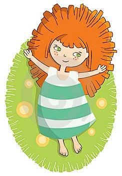 Sunny Girl Royalty Free Stock Photo - Image: 21958625