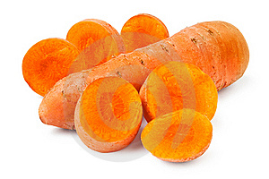 Cut Carrot Stock Photography - Image: 21963432