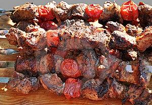 Pork Shashlik Stock Images - Image: 21966124